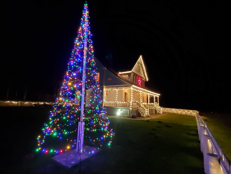 Christmas at Heceta Lighthouse, Heceta Lighthouse B&B